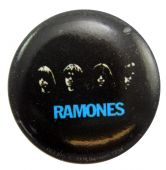 Ramones - 'Group Heads' Button Badge
